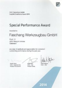 Special Performance Award 2014